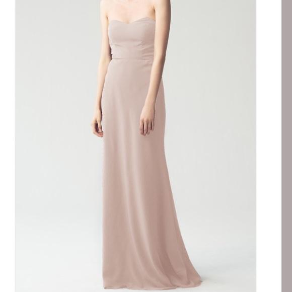 f5c43250914 Jenny Yoo Dresses   Skirts - Jenny Yoo Kylie bridesmaids dress in chai